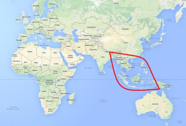 Olhares pelo mundo Sudeste Asiático