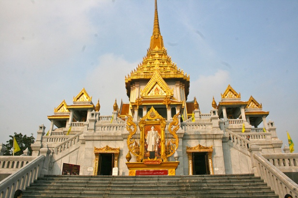 Wat Traimit Bangkok Ian Gratton